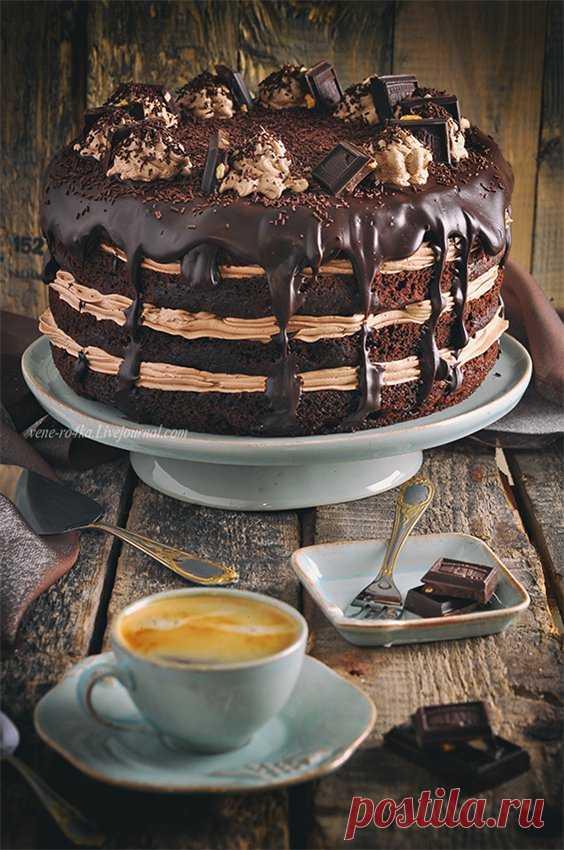 Шоколадный торт с Нутеллой и про магазин приятных вещей. - Вкусная пауза — LiveJournal