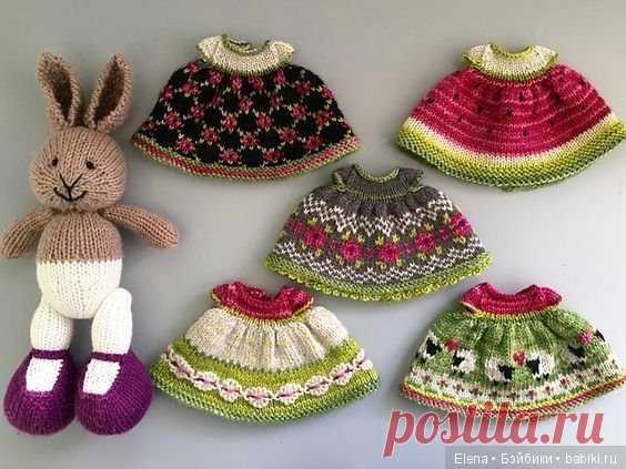 жаккард для кукольной одежды вязание для кукол бэйбики куклы