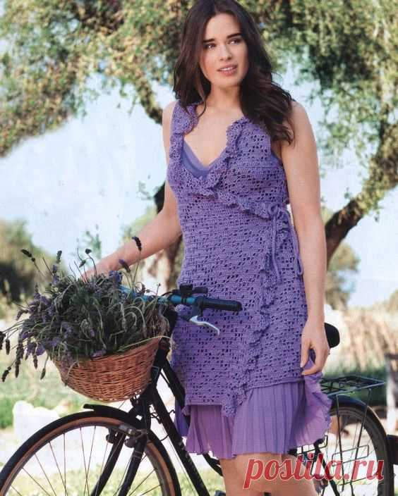 Lavender dress Click to view pattern for - Lavender dress