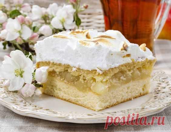 Нежный яблочный пирог - рецепт приготовления с фото от Maggi.ru