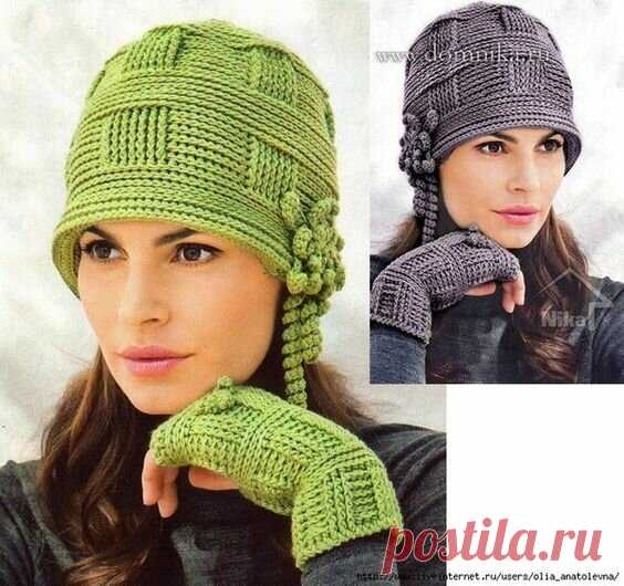 10 стильных вязаных шляп для осени и зимы | Только handmade | Яндекс Дзен
