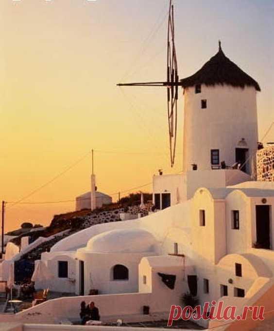 Вечерний Санторини, Греция