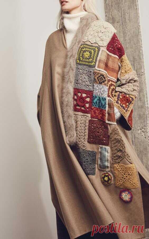 Пальто в стиле бохо-3. | Ольга Таволга | Яндекс Дзен