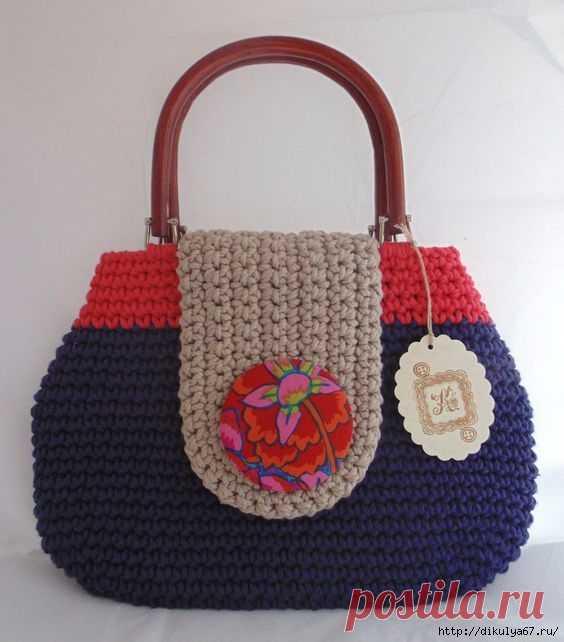 57569a003e16 вязаные сумочки - Самое интересное в блогах | сумки, клатчи крючком ...