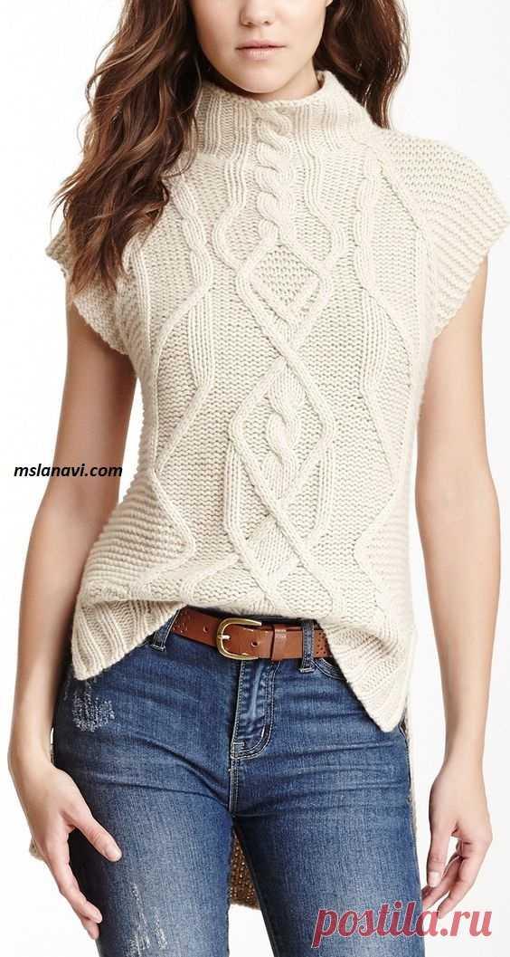 вязаные пуловеры, жакеты, топы | Записи в рубрике вязаные пуловеры, жакеты, топы | Модное вязание на MSLANAVI_COM