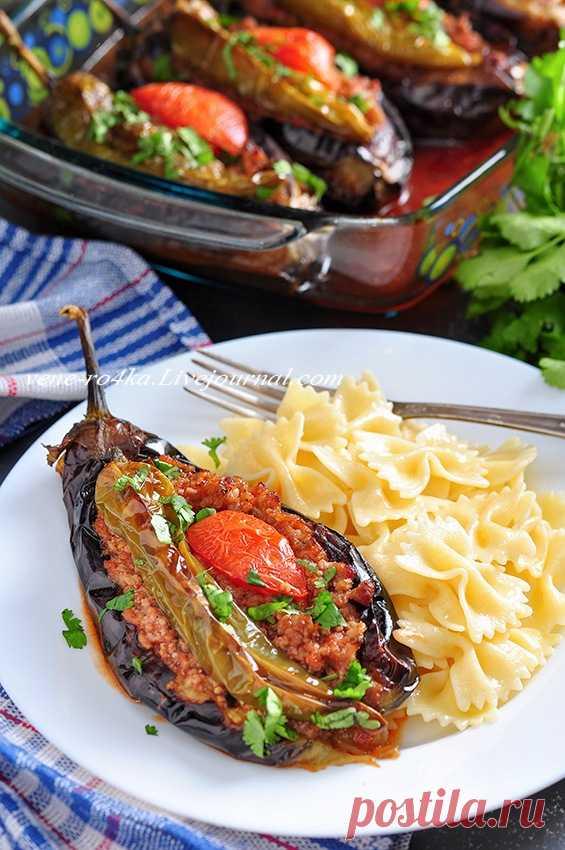 Турецкая кухня: Карныярык («распоротый живот»)/ Karnıyarık - Вкусная пауза