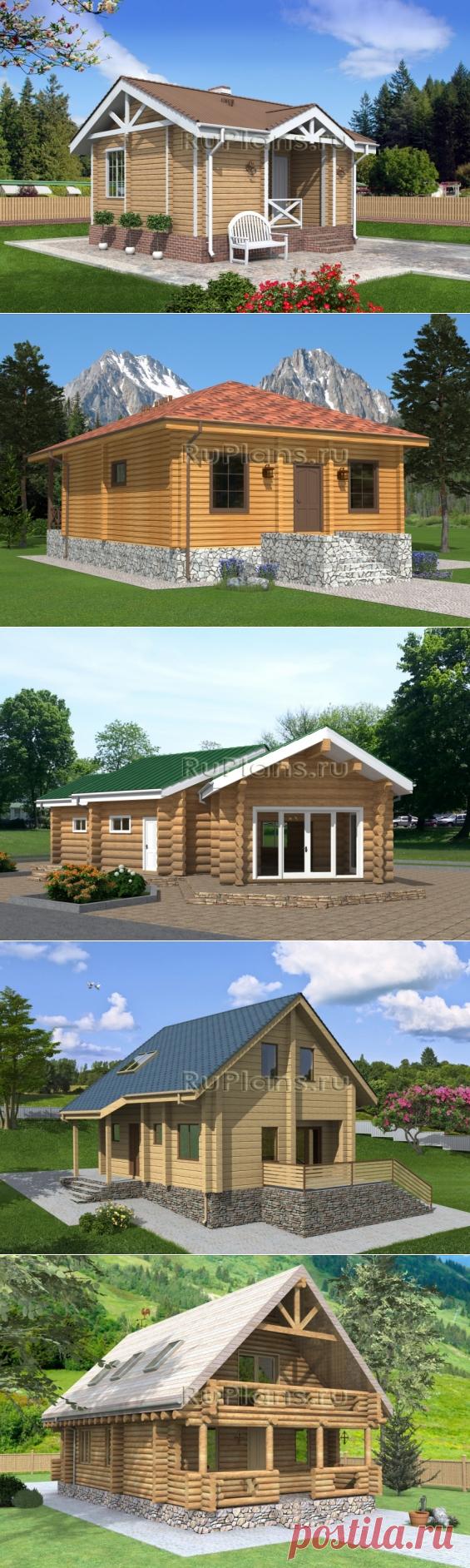 Проекты деревянных домов. Деревянные дома. Проекты домов из дерева - https://ruplans.ru/proekti/derevo/
