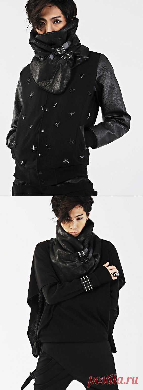 Шарф и куртка / Шарфы / Модный сайт о стильной переделке одежды и интерьера