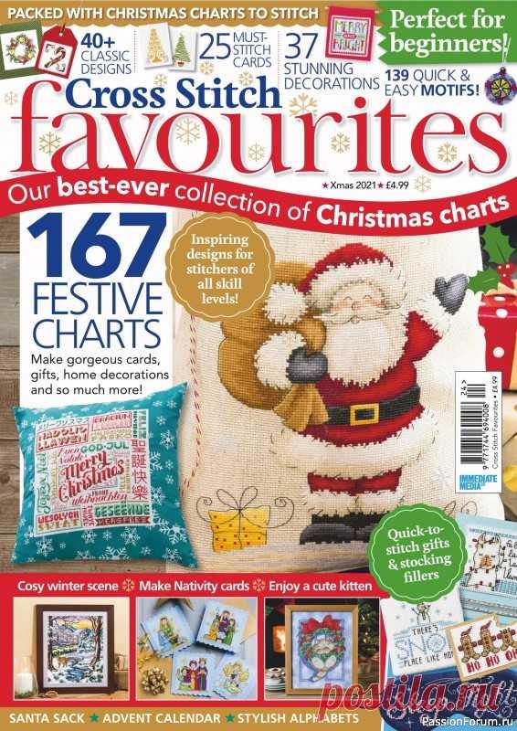 Cross Stitch Favourites - Christmas 2021   Вышивка крестом