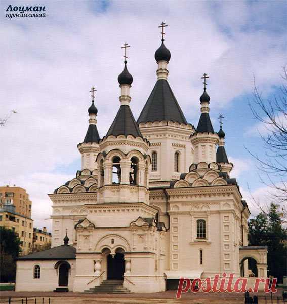 «Москва, церковь Архангела Михаила на Девичьем поле» — карточка пользователя alenn3232 в Яндекс.Коллекциях