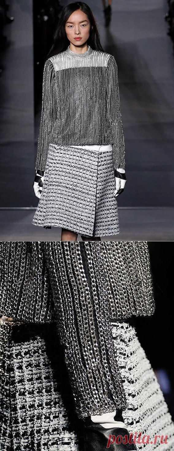 Кольчужная фактура Proenza Schouler / Декор / Модный сайт о стильной переделке одежды и интерьера