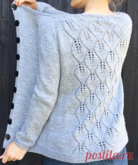 Узор - пуловер | Mnemosina вязание | Яндекс Дзен