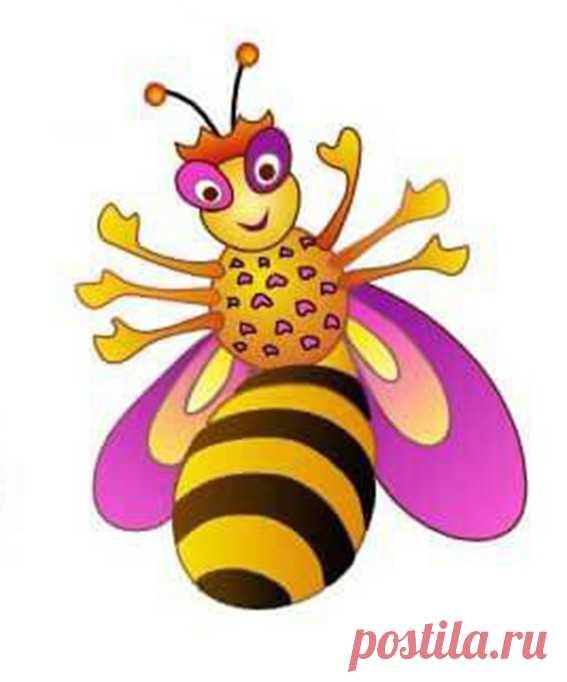 Рисуем с детьми пчёлку-красавицу