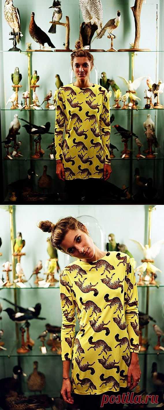 Игривый принт / Рисунки и надписи / Модный сайт о стильной переделке одежды и интерьера