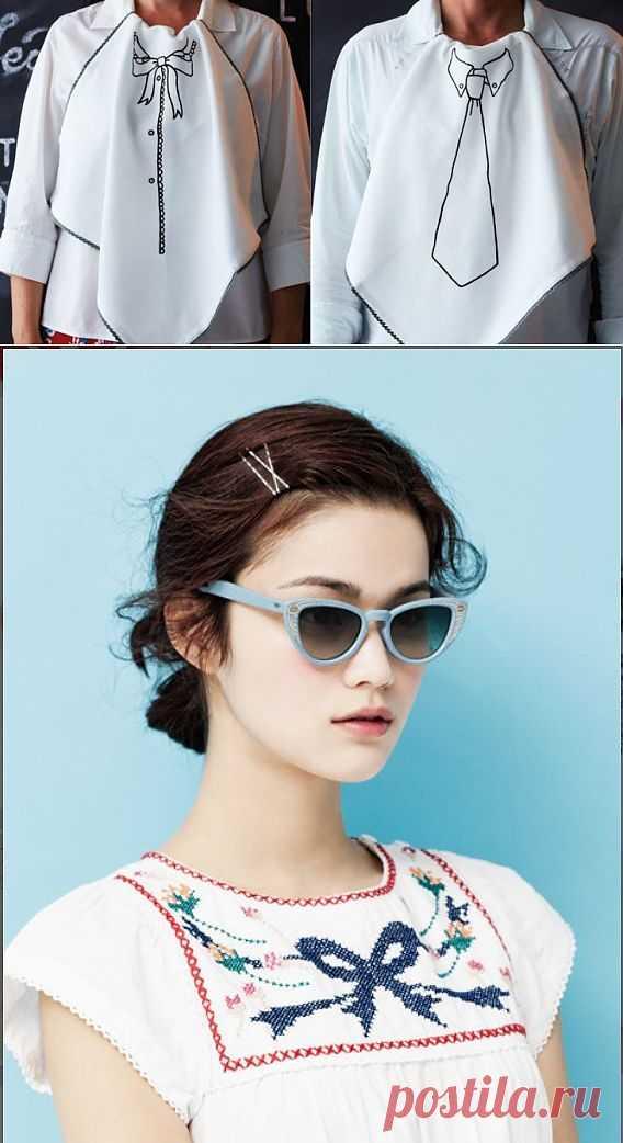 Вышитые столовые салфетки и блузка / Вышивка / Модный сайт о стильной переделке одежды и интерьера