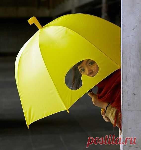 Зонт с очками / Аксессуары (не украшения) / Модный сайт о стильной переделке одежды и интерьера
