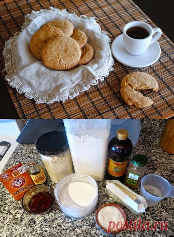 «Советское» овсяное печенье