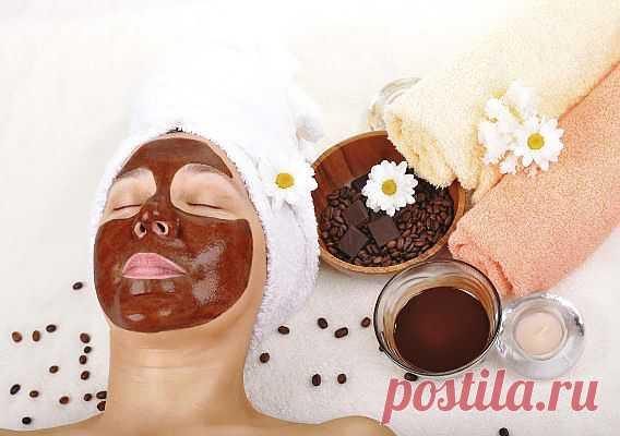 Шоколадно-медовая маска с йогуртом и солью.