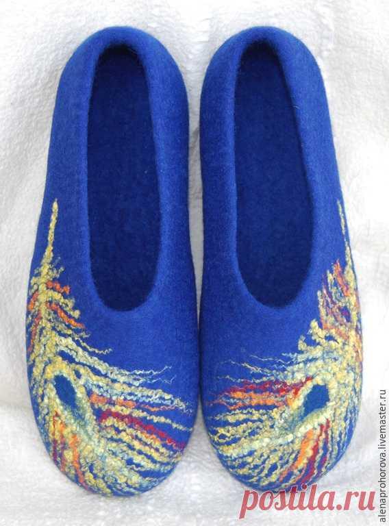 Las zapatillas valyanye \
