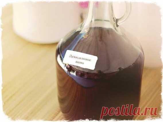 Эликсир здоровья-Девясиловое вино.