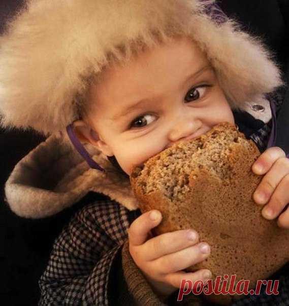 Посвящается всем, кто отгрызал корочку, пока нёс хлеб домой 😊