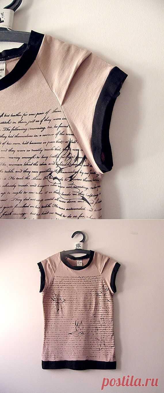 Заложенная складка на рукаве / Детали / Модный сайт о стильной переделке одежды и интерьера