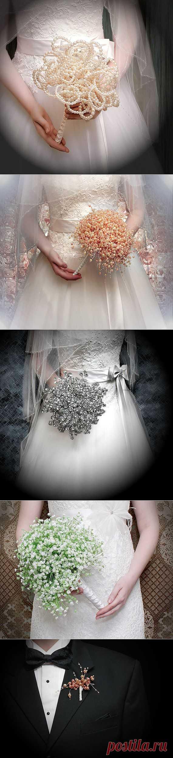 Невероятной красоты цветочные аксессуары и украшения от Brida lBouquets by Ky. Это нечто!!!.