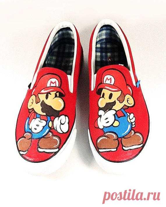 Это же легендарный Марио!