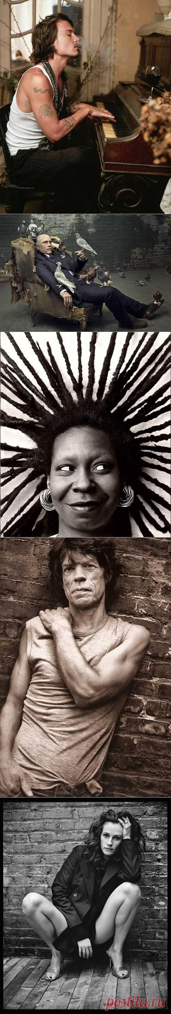 Человечные портреты знаменитостей