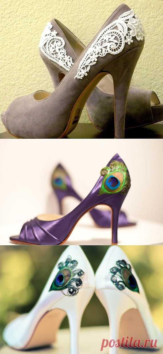Туфли с декором (DIY) / Обувь / Модный сайт о стильной переделке одежды и интерьера