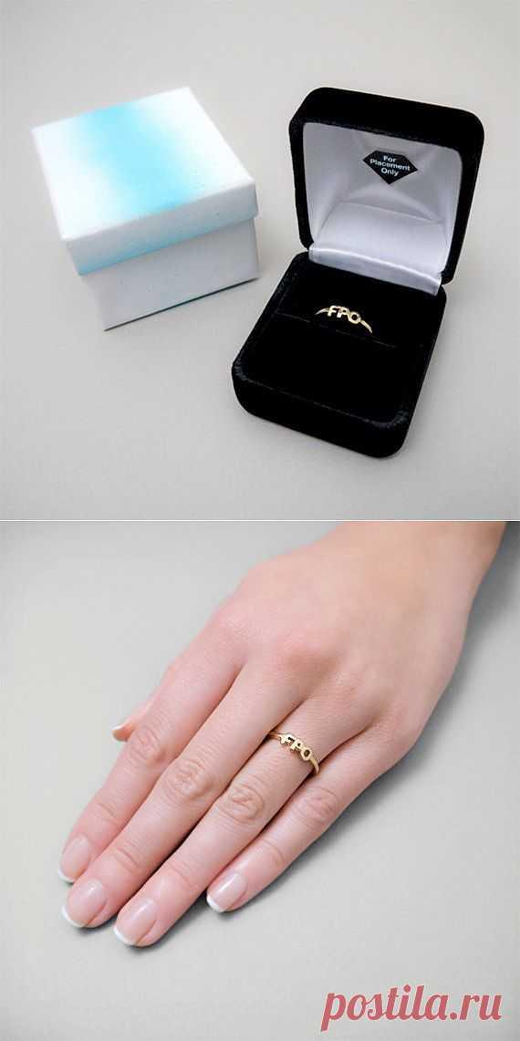 Предпомолвочное кольцо / Ювелирные украшения / Модный сайт о стильной переделке одежды и интерьера