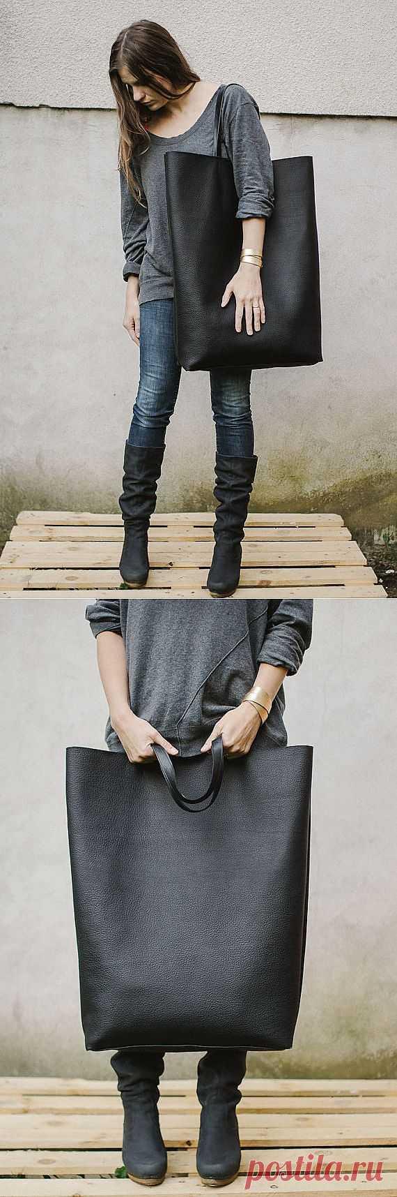 Гигантская сумка / Сумки, клатчи, чемоданы / Модный сайт о стильной переделке одежды и интерьера