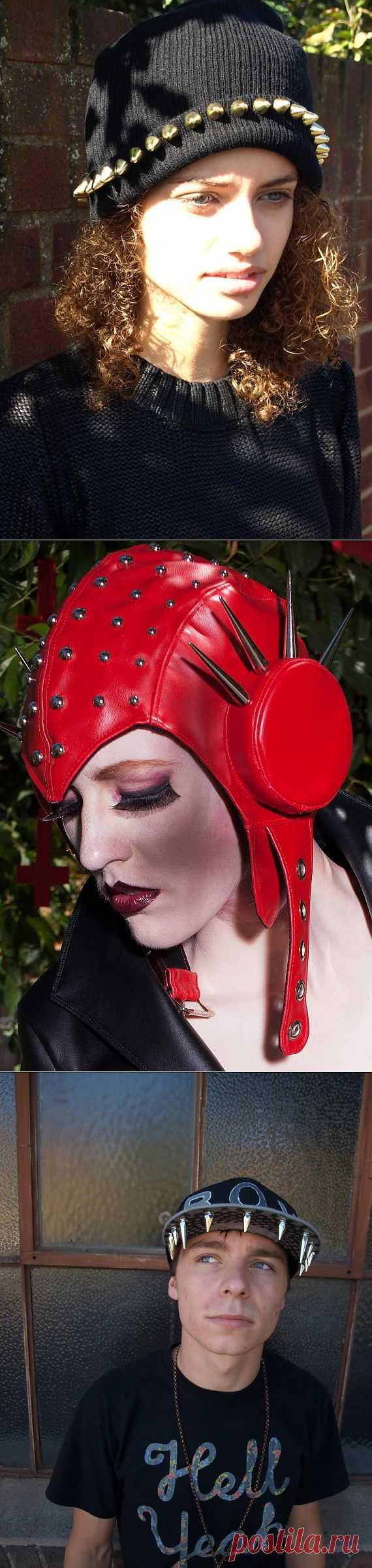 Шипы и клепки на голове (подборка) / Головные уборы / Модный сайт о стильной переделке одежды и интерьера