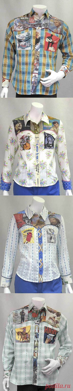 Сумасшедшие рубашки (трафик) / Рубашки / Модный сайт о стильной переделке одежды и интерьера
