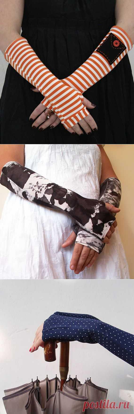 Митенки WearMeUp (подборка) / Перчатки и варежки / Модный сайт о стильной переделке одежды и интерьера