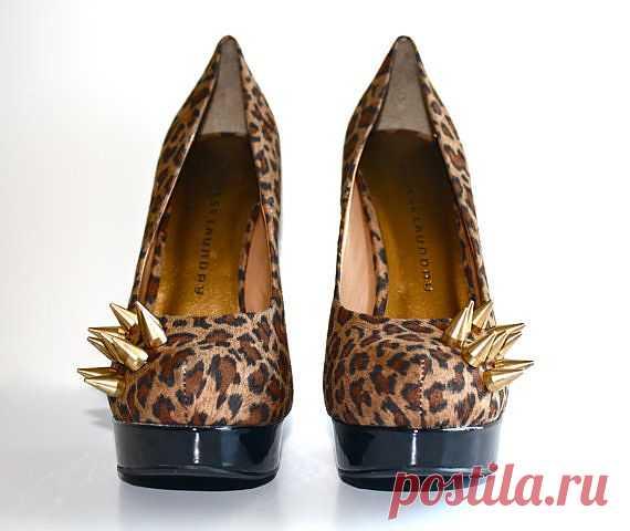 Шипастый леопард - $75.00 USD
