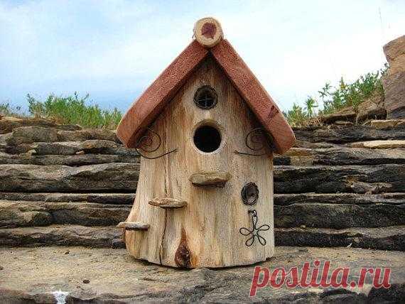 Очаровательный домик для птичек