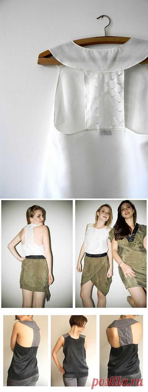 Мега простой топ / Простые выкройки / Модный сайт о стильной переделке одежды и интерьера