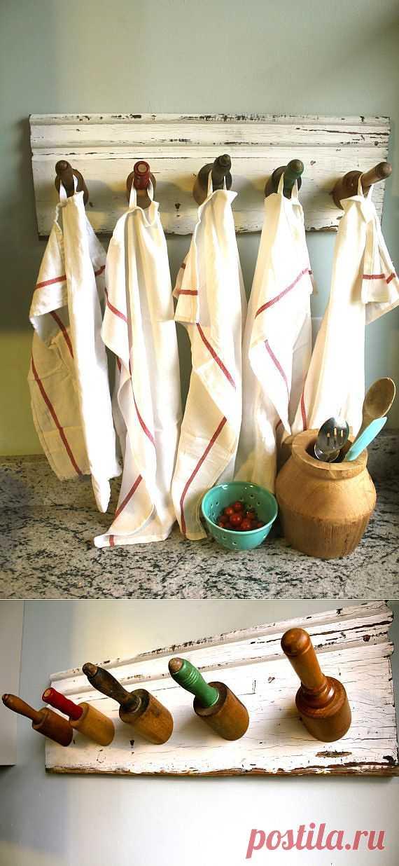Вешалка для кухни суровых мужчин) / Кухня / Модный сайт о стильной переделке одежды и интерьера