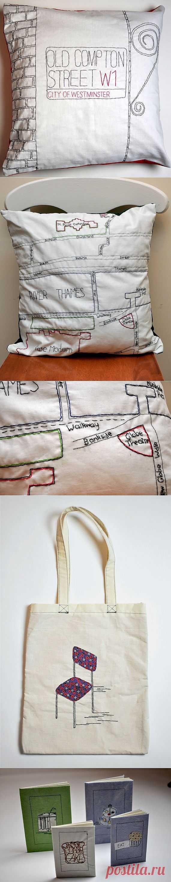 Стежок за стежком (подборка) / Вышивка / Модный сайт о стильной переделке одежды и интерьера