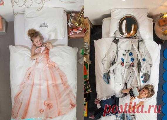 Детское постельное белье с идеей