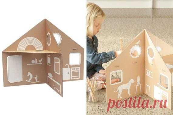 Кукольный домик, эконом серия