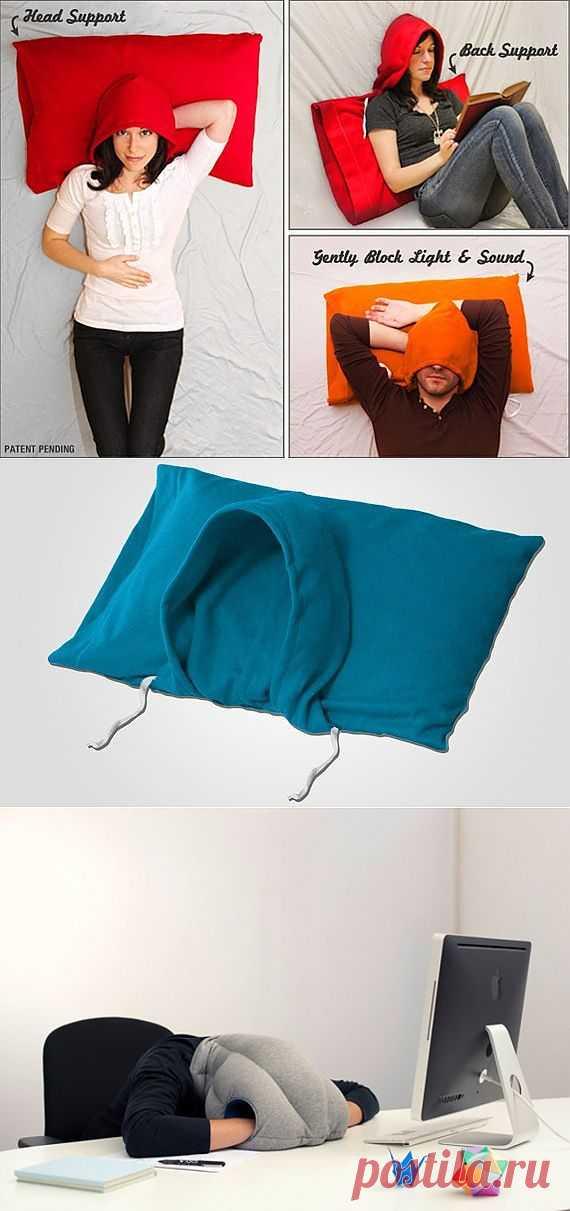 Две интересные подушки / Подушки / Модный сайт о стильной переделке одежды и интерьера