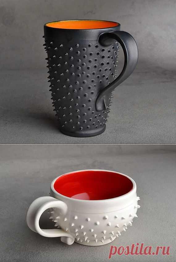 Колючая чашка / Креатив / Модный сайт о стильной переделке одежды и интерьера