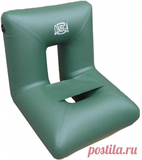 Надувное пвх кресло очень удобно при использовании вместо жестких сидений в лодке, обеспечивает комфорт и хорошую поддержку спины при длительной рыбалке.