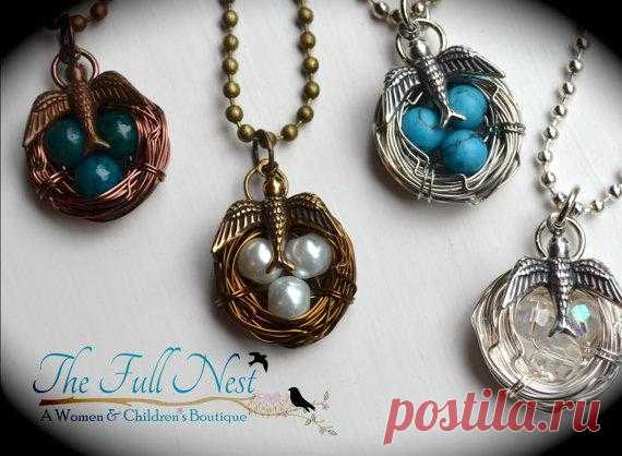 Птички и гнезда (Handmade $20.00 USD)