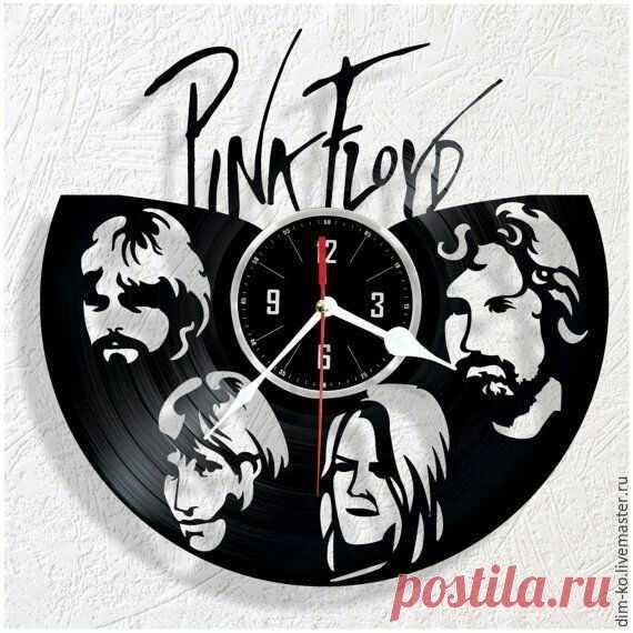 Часы настенные из виниловой пластинки Pink Floyd – купить в интернет-магазине на Ярмарке Мастеров с доставкой Часы настенные из виниловой пластинки Pink Floyd - купить или заказать в интернет-магазине на Ярмарке Мастеров | Часы изготовлены из старых виниловых пластинок.