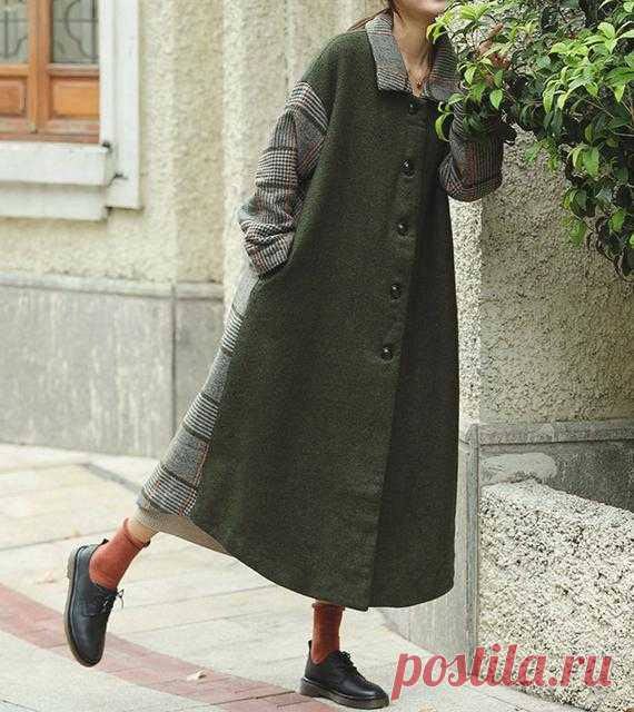 Army green Long wool coat Winter coat women Wool coat women | Etsy 【Fabric】 65% wool, 35% polyester 【Color】 yellow 【Size】 Shoulder width 56cm/ 22 Sleeve length 46cm / 20 Bust 122cm / 48 Length 121cm/ 47    Washing & Care instructions: -Hand wash or gently machine washable do not tumble dry -Gentle wash cycle (40°C) -If you feel like ironing (although should not be