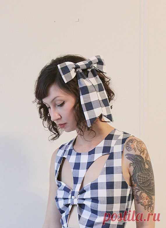 Интересная деталь на платье / Детали / Модный сайт о стильной переделке одежды и интерьера