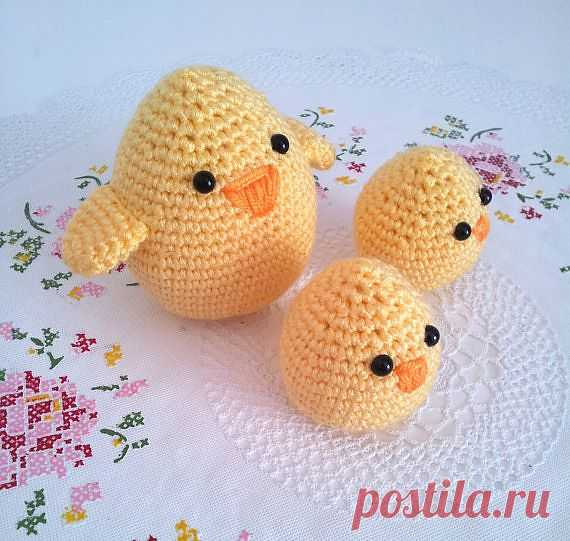 Вязаные яйца-игрушки. Детский пасхальный сувенир..